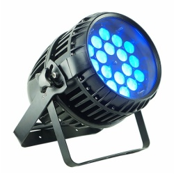 ZOOM LED PAR 18x18W 6IN1 waterproof