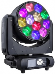 LED WASH ZOOM Moving Head 12*40W 4IN1 Pixel Control